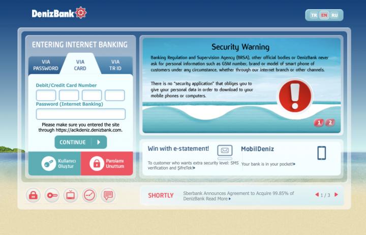 denizbank-internet-banking